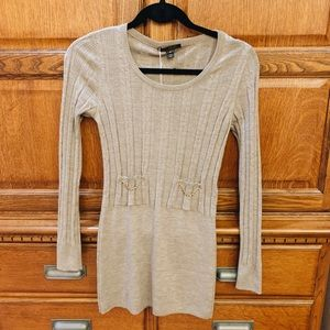 Louis Vuitton authentic sweater dress with chain